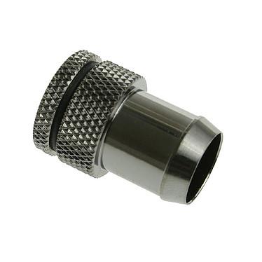 """Bitspower bouchon adaptateur 1/4"""" 13 mm (coloris noir)"""