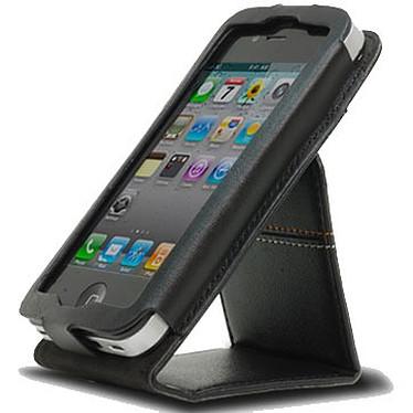 D3O D3OIFLIP4N Noir D3O D3OIFLIP4N Noir - Housse à rabat en cuir et d3o (pour iPhone4)