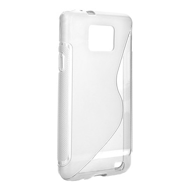 xqisit Backcover Transparent xqisit Backcover Transparent - Coque pour Samsung Galaxy S II