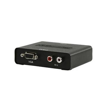 Convertisseur HDMI vers VGA + RCA