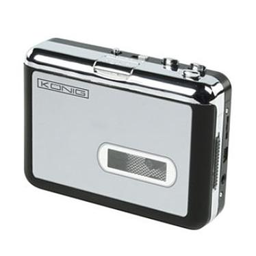 König USB Cassette Player Convertisseur K7 audio vers MP3