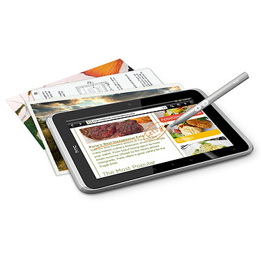 """HTC Flyer 16 Go HTC Flyer - Tablette Internet - Qualcomm Snapdragon 1.5 GHz 1 Go 16 Go 7"""" LCD Tactile Wi-Fi N/Bluetooth Android"""