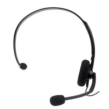 Microsoft Xbox 360 Headset Noir Microsoft Xbox 360 Headset Noir - Casque pour Xbox 360