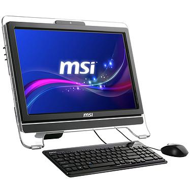 "MSI Wind Top AE2050-002 Noir AMD Double-Coeur E350 4 Go 500 Go LCD 20"" Tactile Graveur DVD Wi-Fi N Webcam Windows 7 Premium 64 bits"