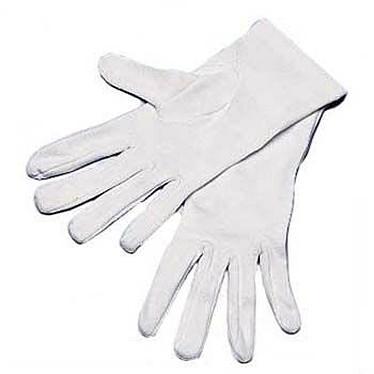 Hama 08469 Gants de coton taille 9-10 (coloris blanc)