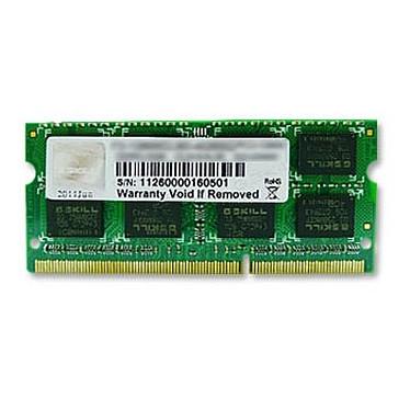 G.Skill 4 Go DDR3 1600 MHz CL11 SODIMM 204 pins PC3-12800 - F3-12800CL11S-4GBSQ