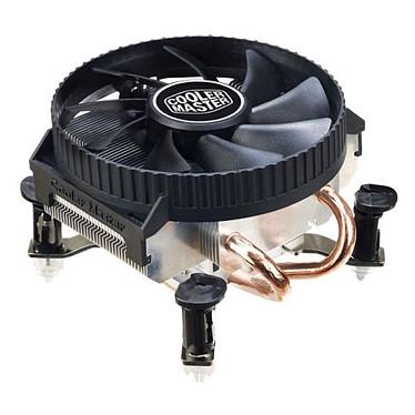 Cooler Master Vortex 211Q Ventilateur pour processeur Low Profile (pour socket Intel 775 / 1155 / 1156)