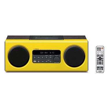 Yamaha TSX-112 Jaune Système audio lecteur CD + dock iPod / iPhone