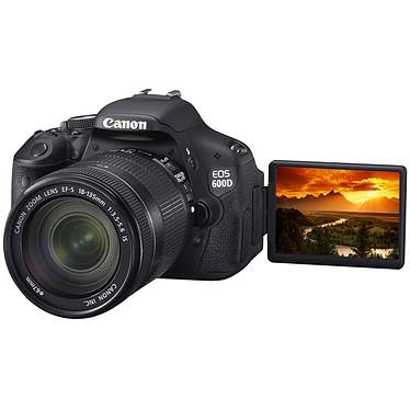 Avis Canon EOS 600D + Objectif EF-S 18-55 mm f/3,5-5,6 IS II