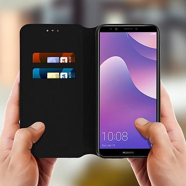 Acheter Avizar Etui folio Noir pour Honor 7C , Huawei Y7 2018