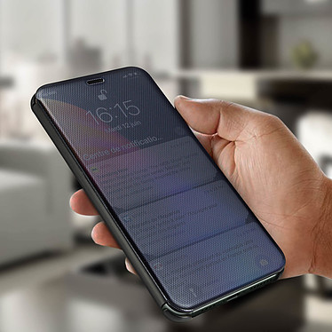 Avis Avizar Etui folio Noir Translucide pour Apple iPhone 11 Pro