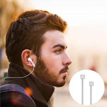 Acheter Avizar Pack d'accessoires Blanc pour Apple AirPods