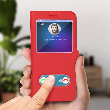 Acheter Avizar Etui folio Rouge Support Vidéo pour Samsung Galaxy J6
