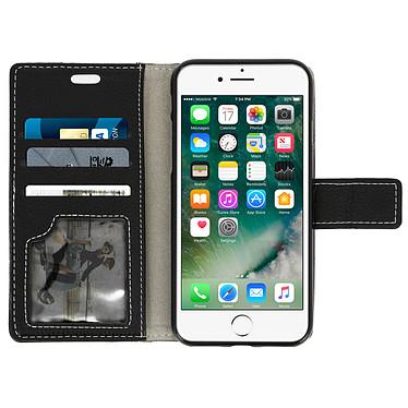 Acheter Avizar Etui folio Noir Éco-cuir pour Apple iPhone 7 , Apple iPhone 8
