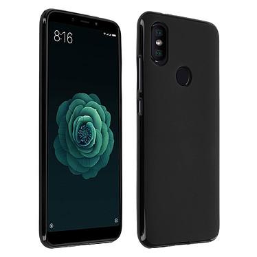 Avizar Coque Noir pour Xiaomi Mi A2 Coque Noir Xiaomi Mi A2