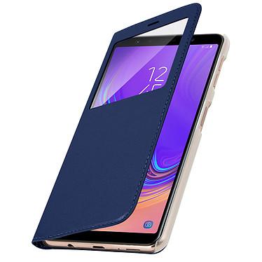 Avizar Etui folio Bleu Nuit pour Samsung Galaxy A7 2018 pas cher