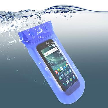 Acheter Avizar Housse étanche Bleu pour Smartphones de taille max : 167,6 x 88 mm