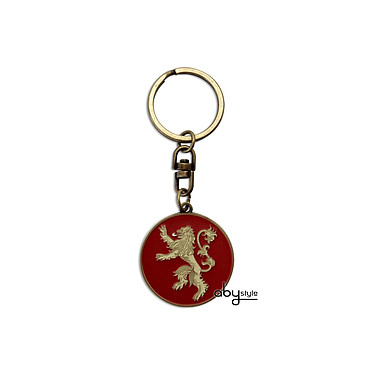 GAME OF THRONES - Porte-clés Lannister GAME OF THRONES - Porte-clés Lannister