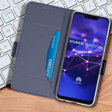 Acheter Avizar Etui folio Bleu Nuit pour Huawei Mate 20 lite