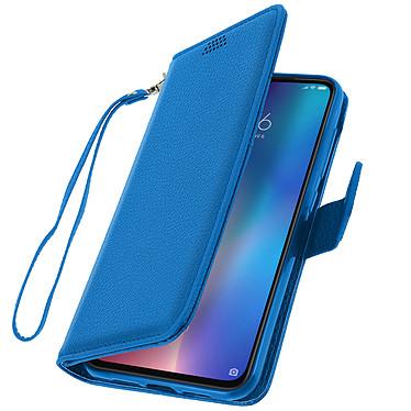 Avizar Etui folio Bleu pour Xiaomi Mi 9 pas cher