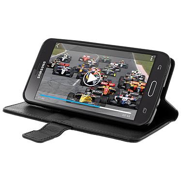 Avis Avizar Etui folio Noir pour Samsung Galaxy J3