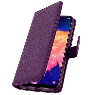Avizar Etui folio Violet pour Samsung Galaxy A10 pas cher