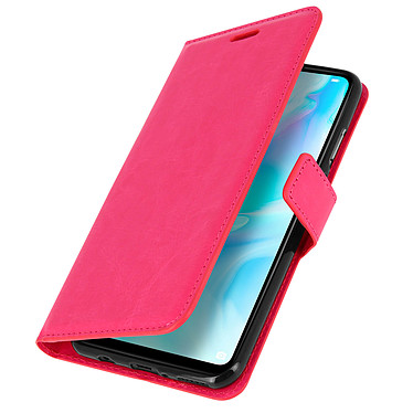 Avizar Etui folio Rose pour Huawei P30 Lite , Honor 20S , Huawei P30 Lite XL pas cher