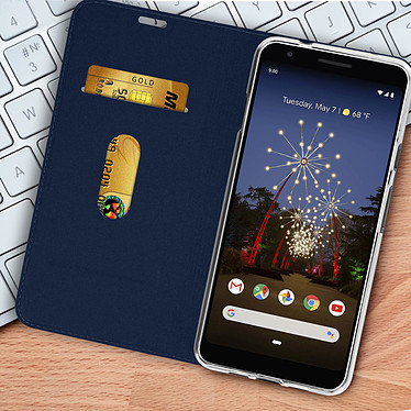 Acheter Avizar Etui folio Bleu Nuit pour Google Pixel 3A XL