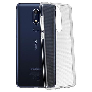 Avizar Coque Transparent pour Nokia 5.1 pas cher