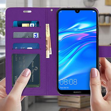 Acheter Avizar Etui folio Violet pour Huawei Y7 2019