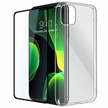 Avizar Pack protection Noir pour Apple iPhone 11 pas cher