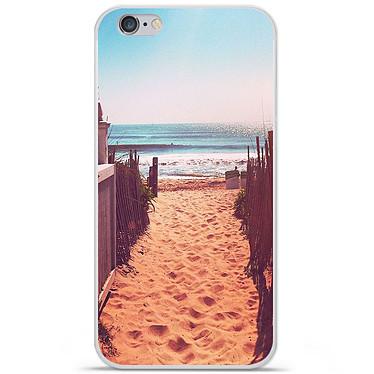 1001 Coques Coque silicone gel Apple IPhone 7 Plus motif Chemin de plage Coque silicone gel Apple IPhone 7 Plus motif Chemin de plage