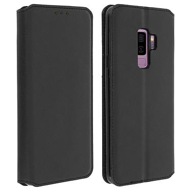 Avizar Etui folio Noir pour Samsung Galaxy S9 Plus pas cher