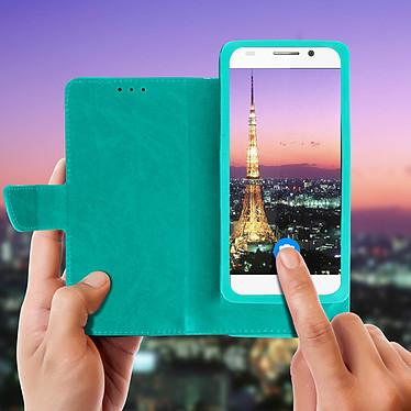 Acheter Avizar Etui folio Vert pour Compatibles avec Smartphones de 5,3 à 5,5 pouces