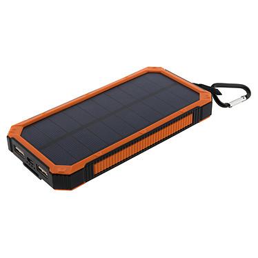 Zenitech 199908 Chargeur Powerbank de secours solaire 10 000 mAh Chargeur Powerbank de secours solaire 10 000 mAh
