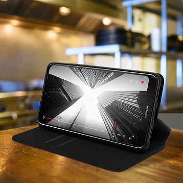Avis Avizar Etui folio Noir pour Nokia 3.2