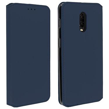 Avizar Etui folio Bleu pour OnePlus 6T, OnePlus 7 Etui folio Bleu OnePlus 6T, OnePlus 7