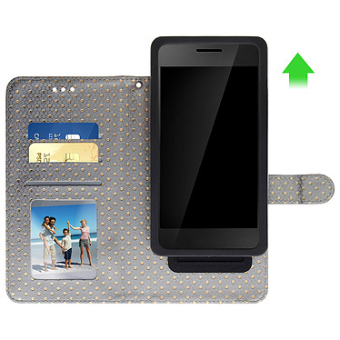 Avis Avizar Etui folio Argent pour Smartphones de 5.5' à 6.0'