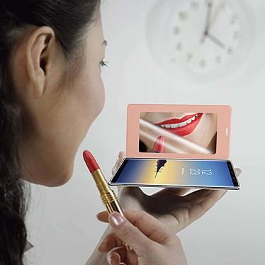 Acheter Avizar Etui folio Rose Champagne pour Samsung Galaxy Note 8