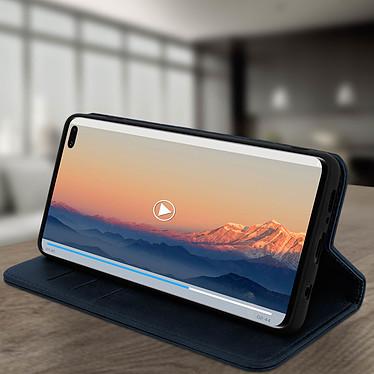 Avis Avizar Etui folio Bleu Nuit Vieilli pour Samsung Galaxy S10 Plus