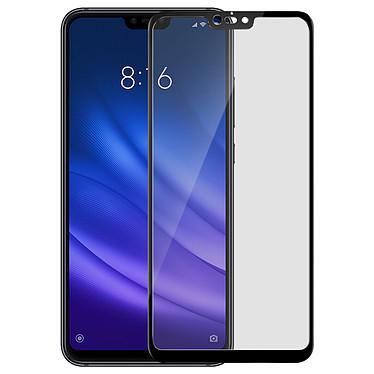 Avizar Film verre trempé Noir pour Xiaomi Mi 8 Lite pas cher