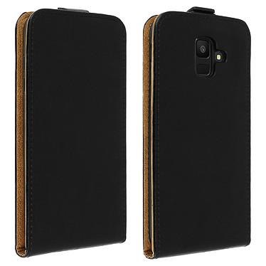 Avizar Etui à clapet Noir pour Samsung Galaxy A6 Etui à clapet Noir Samsung Galaxy A6