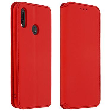 Avizar Etui folio Rouge pour Huawei P Smart Plus Etui folio Rouge Huawei P Smart Plus
