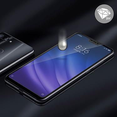 Avis Avizar Film verre trempé Noir pour Xiaomi Mi 8 Lite