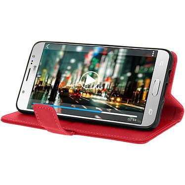 Avis Avizar Etui folio Rouge pour Samsung Galaxy J5 2016
