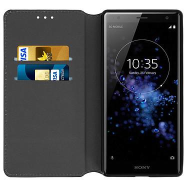 Avis Avizar Etui folio Noir pour Sony Xperia XZ2