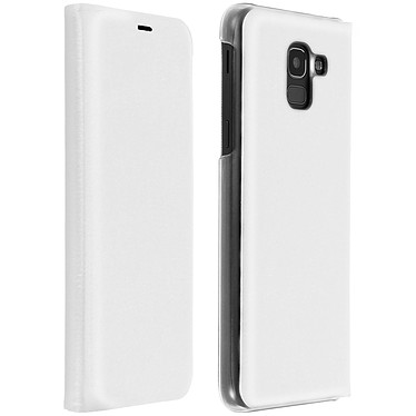 Avizar Etui folio Blanc pour Samsung Galaxy J6 Etui folio Blanc Samsung Galaxy J6