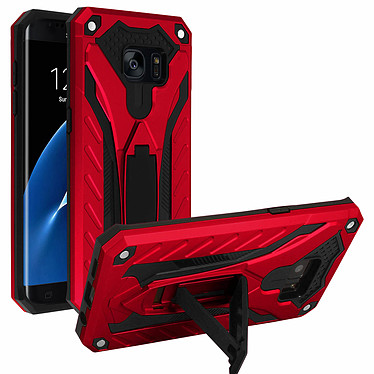 Avizar Coque Rouge pour Samsung Galaxy S7 Edge pas cher
