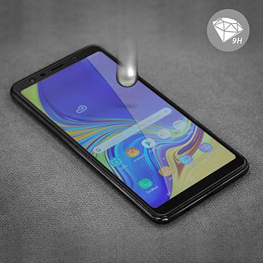 Avis Avizar Film verre trempé Noir pour Samsung Galaxy A7 2018