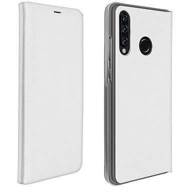 Avizar Etui folio Blanc pour Huawei P30 Lite , Honor 20S , Huawei P30 Lite XL Etui folio Blanc Huawei P30 Lite , Honor 20S , Huawei P30 Lite XL